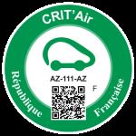Label Crit'air
